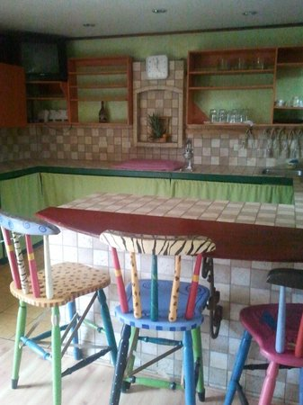 Hotel Kaps Place : Great well equipped kitchen