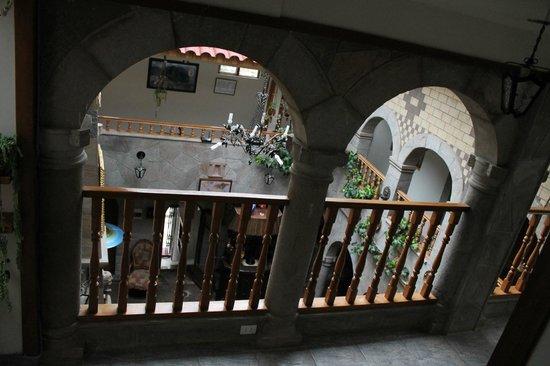 Hotel Chincana Wasi - La Casa Escondida: Salão principal