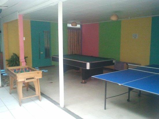 Hotel Kaps Place : Pool, ping pong