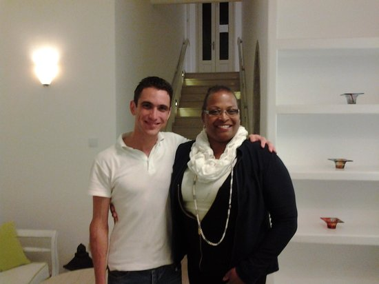 Olia Hotel: Chris and Me (Olia Staff)