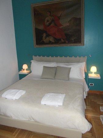 Sweet Home Parioli : Das Bett