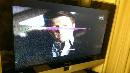 Novotel Milano Malpensa Airport: Mangelhafter TV-Empfang