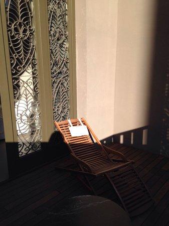 Caro Hotel: Terrasse