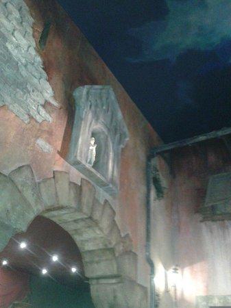 Bellacittà : Une partie de l'interieur.