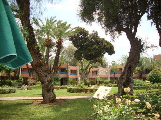 Golden Tulip Farah Marrakech: Jardines
