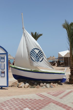 Coral Beach Hurghada Resort : boot