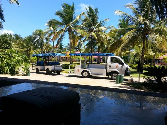 Caribe Club Princess Beach Resort & Spa: The trolley