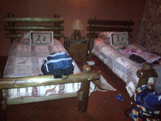 Nhongo Lodge : Shared room ...