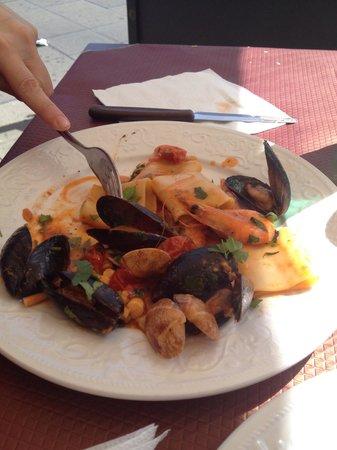 Ristopub Sud Est: Primo piatto menù pesce