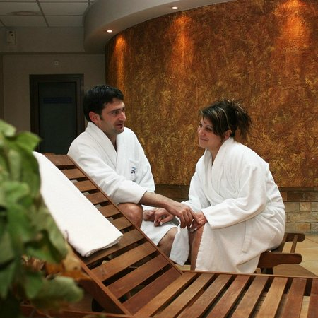 Devin Spa Hotel: Me and my wife at the Devin SPA