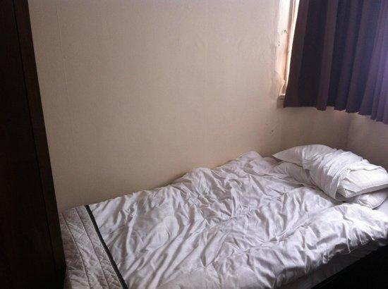 King Solomon Hotel: Una cama acogedora, como la de tu casa.