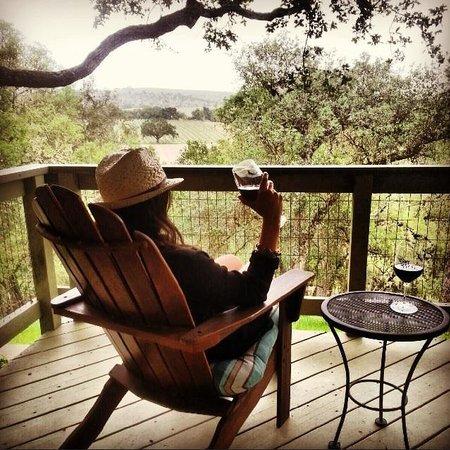 Chanticleer Vineyard Bed and Breakfast : Relaxing
