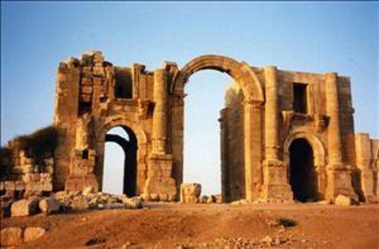 Ruinen von Gerasa: Hedrian's Gate