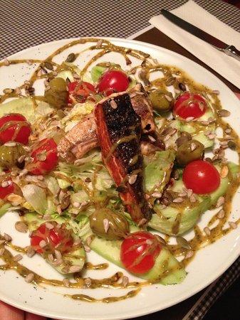 Marley & Me: Salmon salad