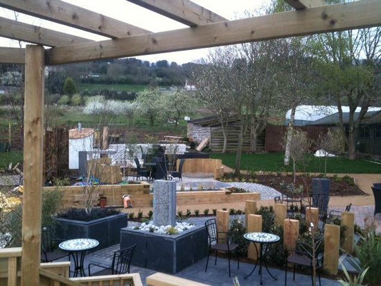 Garden picture of the potting shed cafe clevedon for Garden shed tripadvisor