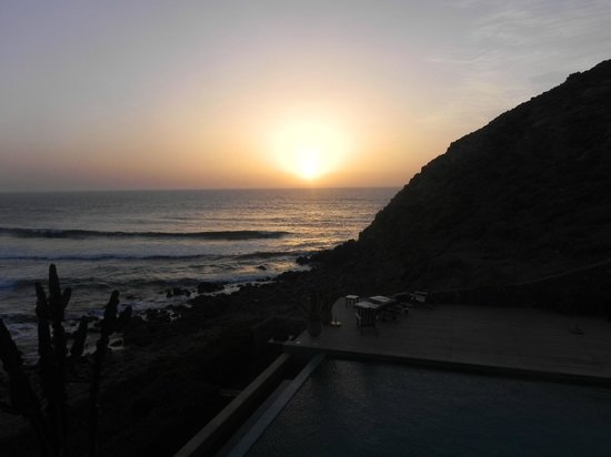 Dar Najmat : coucher de soleil