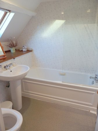 Gladstone House: bath for room #3