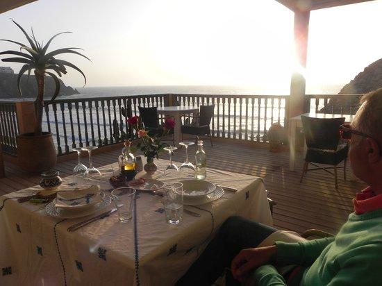 Dar Najmat: terrasse repas