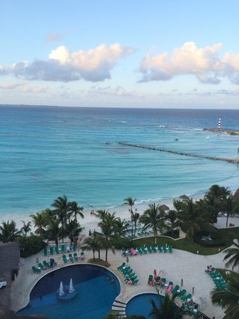 Grand Fiesta Americana Coral Beach Cancun: View from my room
