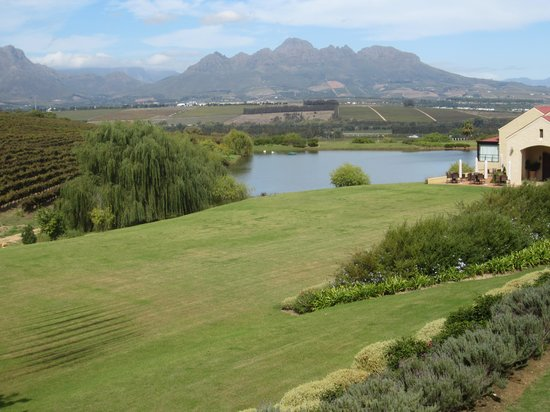 Asara Wine Estate & Hotel: Room with a view