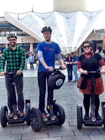 City Segway Tours: Nick, Matthias and Kristin see Berlin by Segway