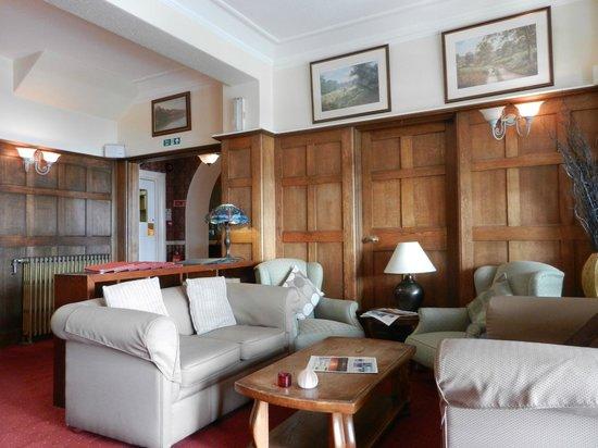 Porth Avallen Hotel : die gemütliche Lobby