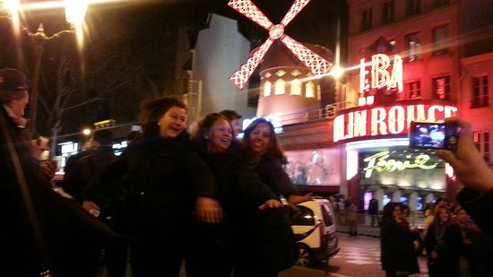 Across from Moulin Rouge - fun!