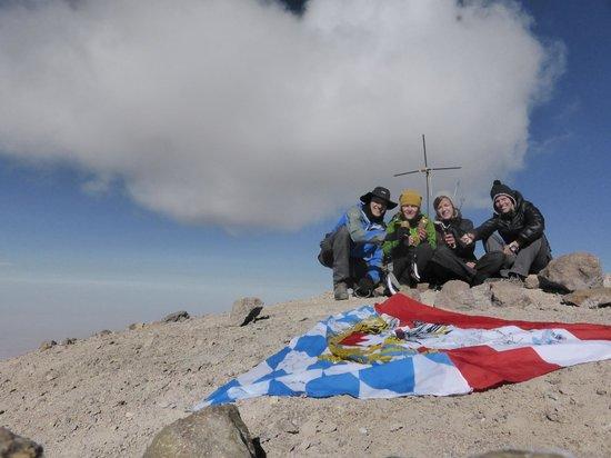 Arequipa Region, Peru: Gipfelbier auf 6075müM