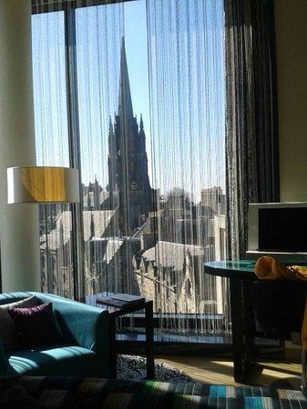 G&V Royal Mile Hotel Edinburgh: View from Room 507