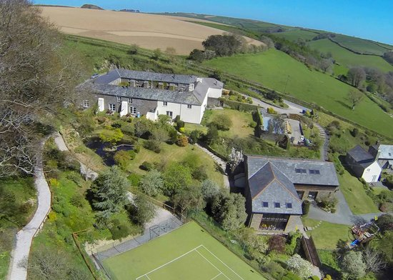 Higher Bowden Holiday Cottages: Spectacular setting in an area of outstanding natural beauty