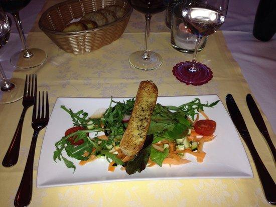 Ronchini, Suiza: Frühlingssalat - Vorspeise