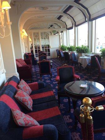Hotel de Londres y de Inglaterra : Uno de los salones