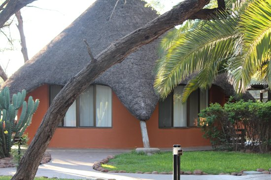 Omaruru Game Lodge: La cabaña Springbook