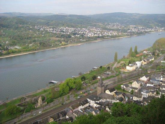 Rhein: View from Marksburg