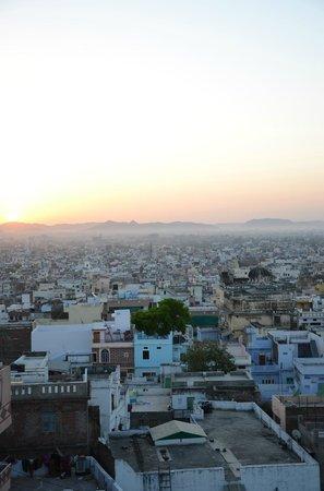 Mewargarh Palace: Blick von der Dachterasse