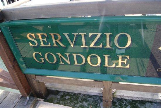 Piazza San Marco (Plaza de San Marcos): Gondole Service
