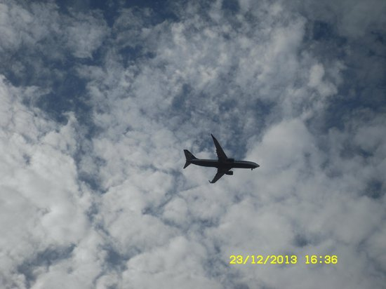 Broncemar Beach : Plane spotting !