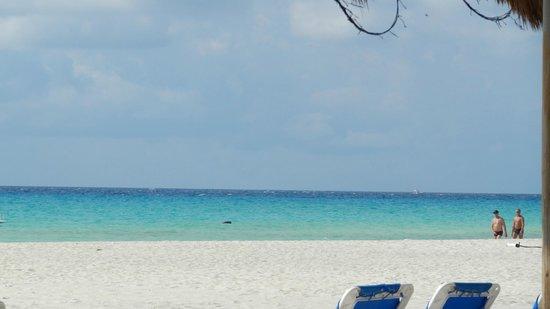 Sandos Playacar Beach Resort : La plage