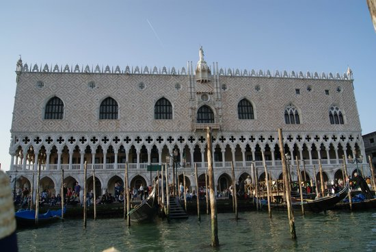 Piazza San Marco (Plaza de San Marcos): On the boat view