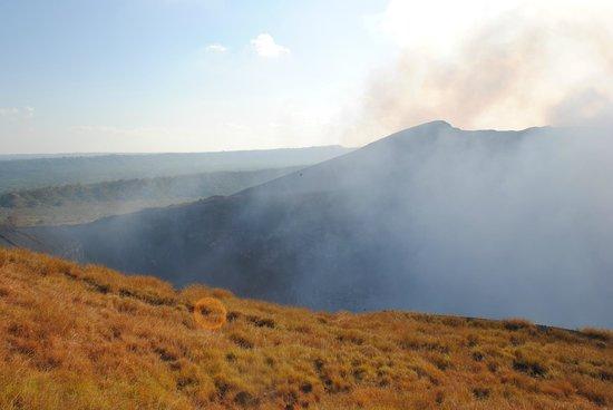 Masaya Volcano National Park: The fumes
