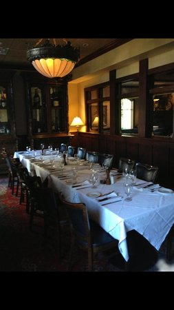 The Coach Grill: Private room