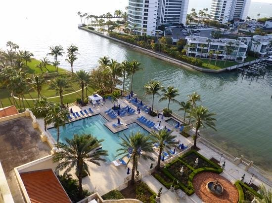 The Ritz-Carlton, Sarasota: View of the pool from the 9th floor