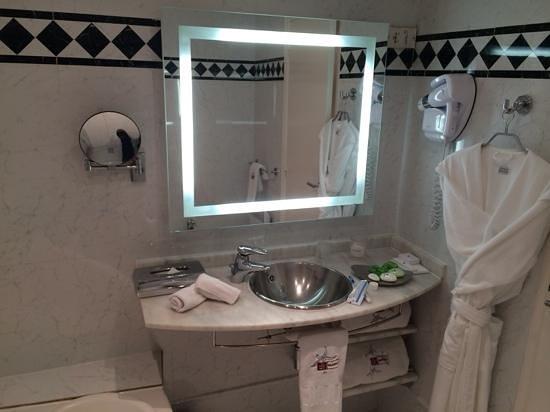 Petit Nice Passedat : salle de bain