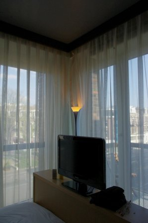 Amadi Park Hotel: windows in the room
