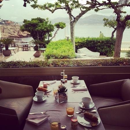 Petit Nice Passedat : salle du petit dejeuner