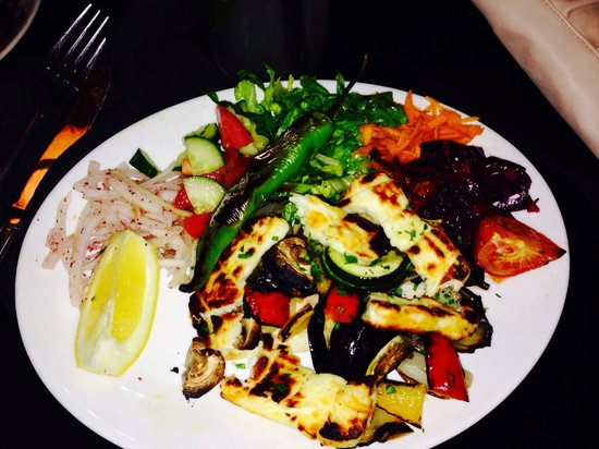 West Bromwich, UK: Vegetarian kebab