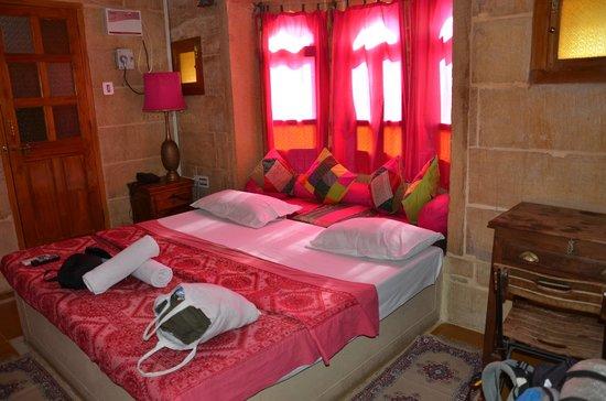 Hotel Shahi Palace : Unser Zimmer