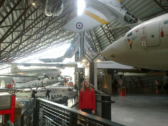 Royal Air Force Museum Cosford: Cold War Hanger
