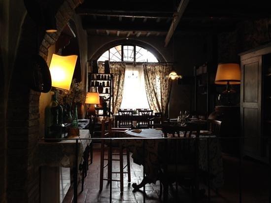 Casa Masi: interno del ristorante