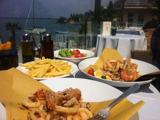 Al Bacio Restaurant: La frittura di pesce